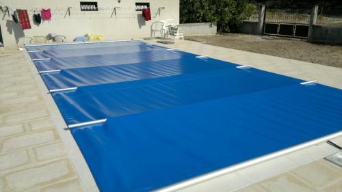 Proteção de piscina
